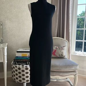 D&G wool blend black sheath dress